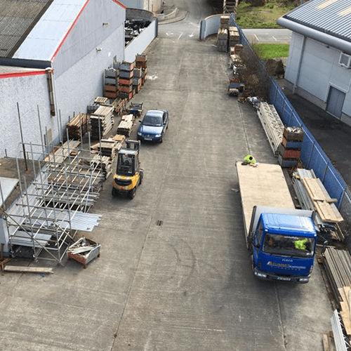 summit scaffolding yard